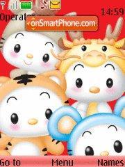 Chinese Zodiac theme screenshot