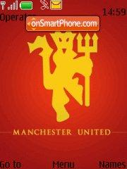 Manchester United 2009 theme screenshot