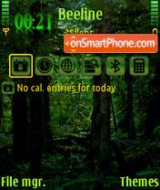 Deep Forest es el tema de pantalla