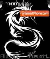 Tribal Dragon theme screenshot
