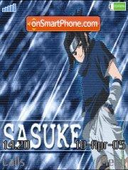 Uchiha Sasuke es el tema de pantalla
