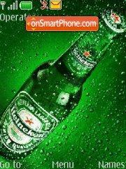 Capture d'écran Heineken thème
