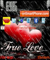 Animated Love Rain es el tema de pantalla