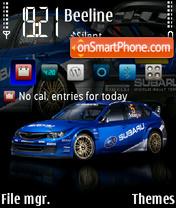 Impreza WRC es el tema de pantalla