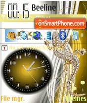 Animated Nokia Watch theme screenshot