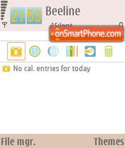 Samsung i850 FP1 theme screenshot