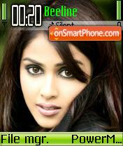 Genelia Green theme screenshot