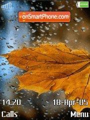 Autumn Leaf es el tema de pantalla