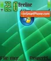 Vista Green 01 theme screenshot