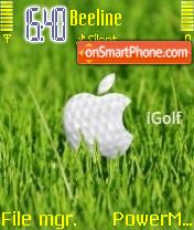 iGolf theme screenshot