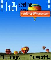 Baloons es el tema de pantalla