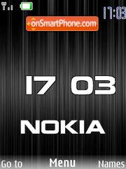Capture d'écran Black Nokia flash 1.1 thème