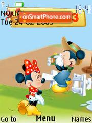 Mikki and Minni flash 1.1 tema screenshot