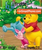 The Pooh Friends es el tema de pantalla