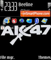 AK-47 es el tema de pantalla