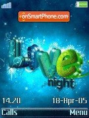 Live Night es el tema de pantalla