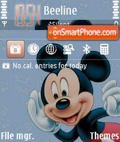 Mikey Mouse 01 theme screenshot