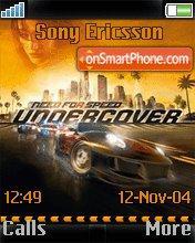 Nfs Undercover 04 es el tema de pantalla
