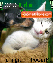 Sweetpcat theme screenshot