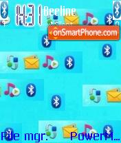 Bluetooth Virus Crazy es el tema de pantalla