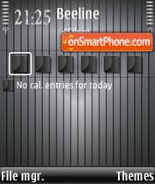 Steel tema screenshot