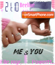 Me and you es el tema de pantalla