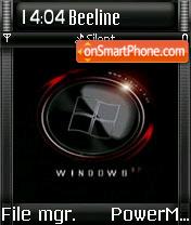 Black Vista 04 theme screenshot