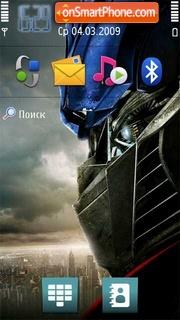 Transformers 11 theme screenshot
