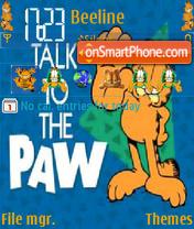 Talk to the Paw theme screenshot