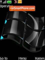Vista black tema screenshot