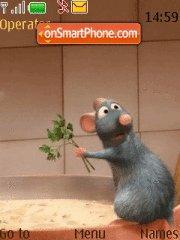 Ratatouille 01 tema screenshot