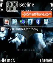 The Dark Knight theme screenshot
