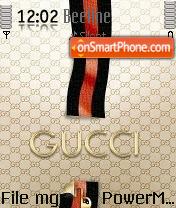 Gucci theme screenshot