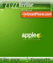 Green Apple 03 theme screenshot