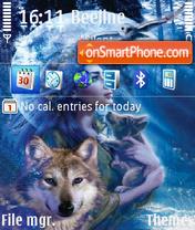 Girl in wolf es el tema de pantalla