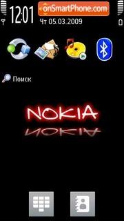 Nokia Theme 5800 XM es el tema de pantalla