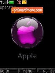 Apple Purple theme screenshot