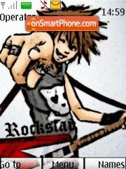 Rockstar theme screenshot