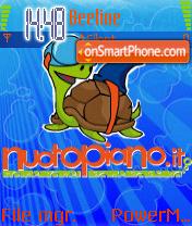 Nuotopiano es el tema de pantalla