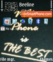 My Phone es el tema de pantalla