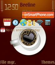 Coffee Time es el tema de pantalla