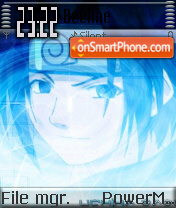 Farewell Face theme screenshot