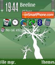 Nature Green 2 es el tema de pantalla