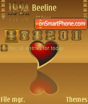 Heart-3rd es el tema de pantalla