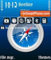 Safari theme screenshot