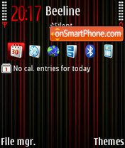 Neon Dhs def theme screenshot