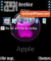 Apple 08 theme screenshot