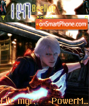 Dante vs Nero es el tema de pantalla