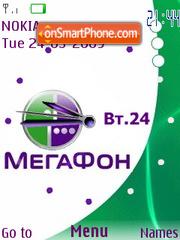 Megafon flash 2.0 Theme-Screenshot