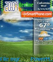 Vista theme screenshot